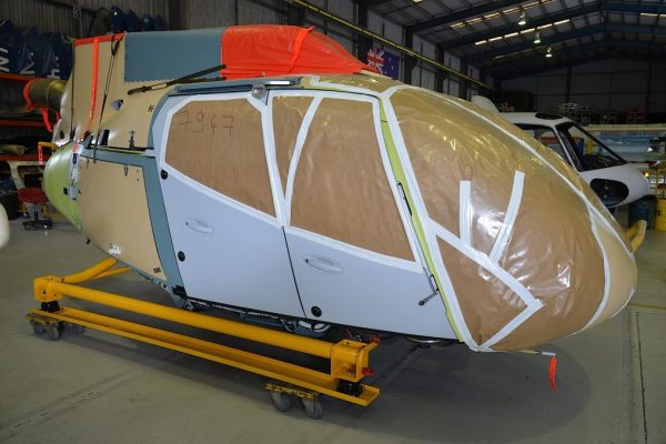 EC130 T2 Green Airframe