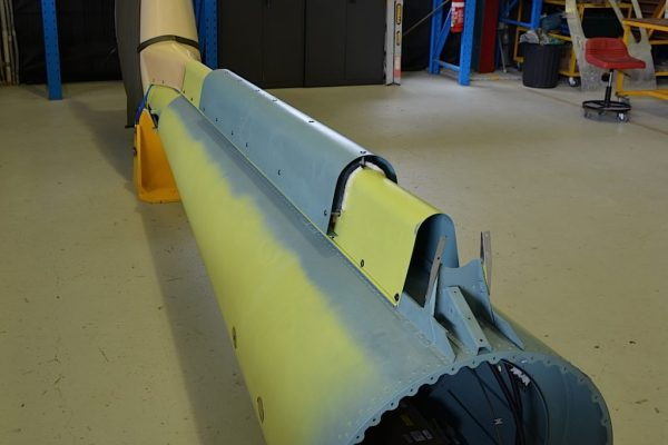 EC130 T2 Tailboom