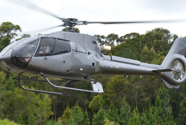 EC130 B4 Hovering