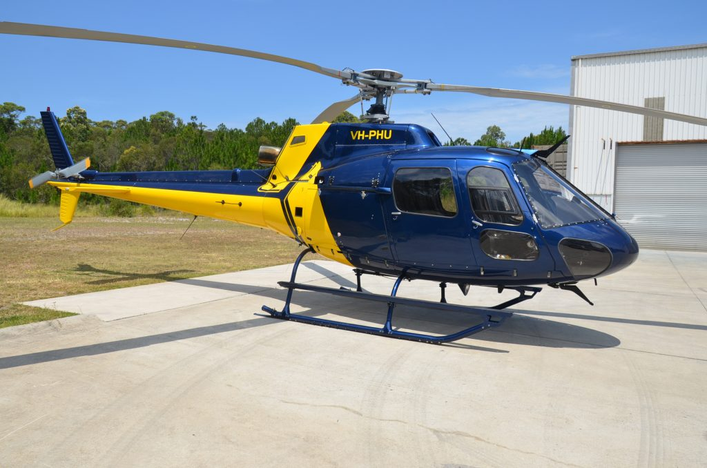 PHS AS350 BA Rebuild  Pacific Crown Helicopters