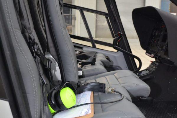 New H130 8 Seat Interior