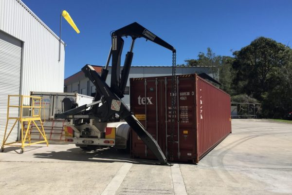 New Airbus Helicopters H130 Container Delivery