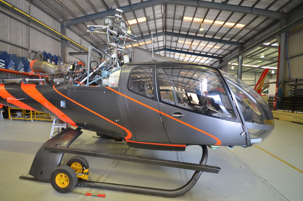 EC130B4 Interior Refurbishment  Pacific Crown Helicopters