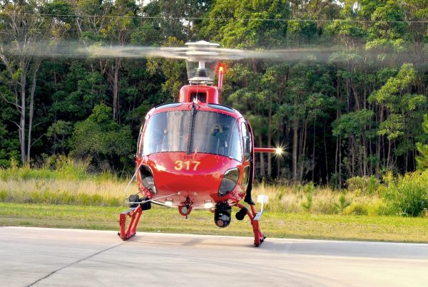 Eurocopter AS350 Camera Installation