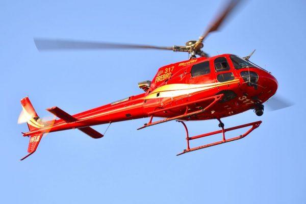 Eurocopter AS350 Camera Installation