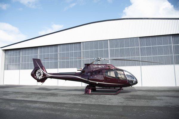 H130 Hangar Shot
